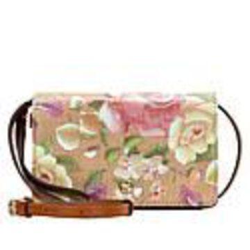 Patricia Nash Francia Crossbody Bag - Rose Garden Straw