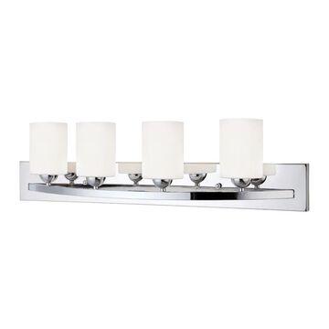 Canarm Hampton 3-Light Chrome Traditional Vanity Light Bar | IVL370A04CH-O