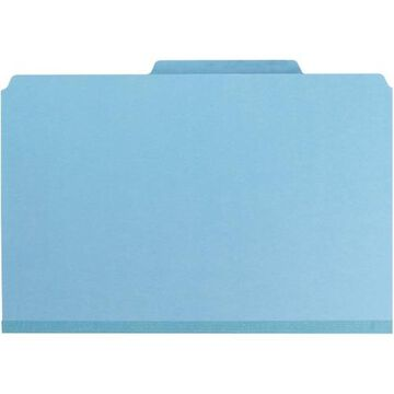 Smead Colored Pressboard Classification Folders with SafeSHIELD& Coated Fastener Technology