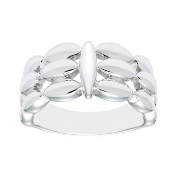 Boston Bay Diamonds Sterling Silver Marquise Ring