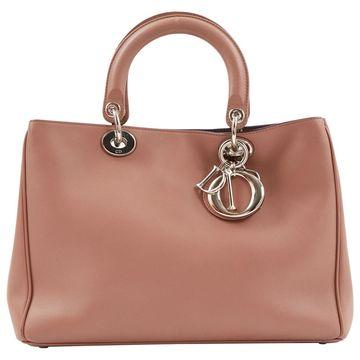 Dior Lady Dior Pink Leather Handbag