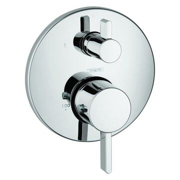 Hansgrohe 04230 S Thermostatic Trim With Volume Control, Chrome