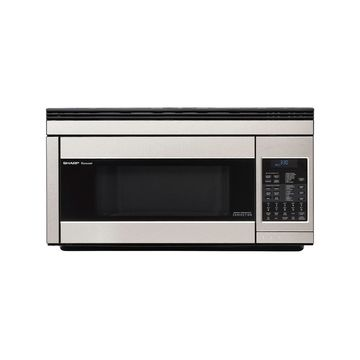 Sharp 1.1 Cu. Ft. 850W Over-the-Range Convection Microwave in Stainless Steel