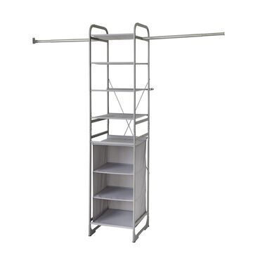 neatfreak Versa Wall Mount Shelf Tower