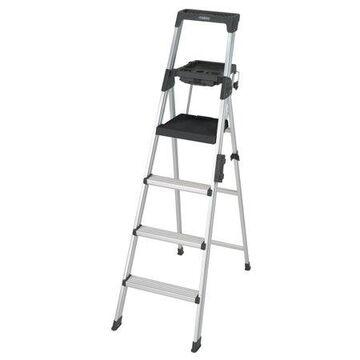 Cosco 6 ft. Signature Series Aluminum Folding Step Ladder with Leg Lock & Handle, 300 lb. Type IA Duty Rating