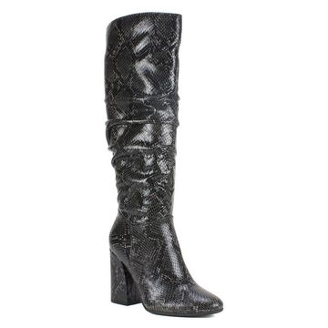 Seven Dials Adelyn Women's Knee High Boots, Size: 7.5, Black