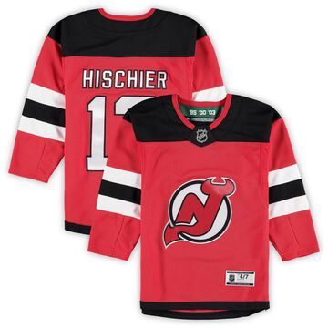 Nico Hischier New Jersey Devils Preschool Red Home Premier Team Player Jersey
