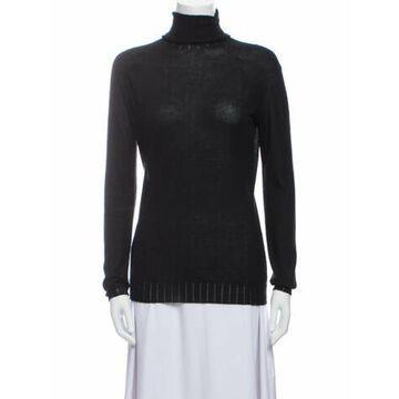 Cashmere Turtleneck Sweater w/ Tags Black
