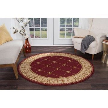 Bliss Rugs Olivet Traditional Area Rug