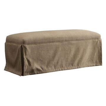 Furniture of America Dokka Bench in Brown
