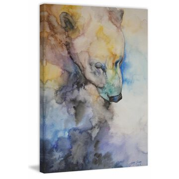 Marmont Hill - Handmade Meditation II Print on Wrapped Canvas