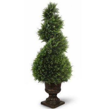 National Tree Company 48-Inch Artificial Juniper Spiral