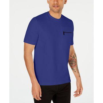 Men's Ribbed Zip-Pocket Shirt