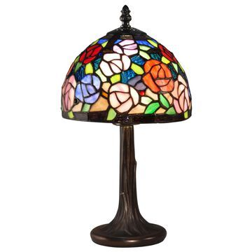 Dale Tiffany Carnation Mini Lamp