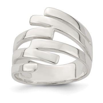 Versil Sterling Silver Fancy Ring