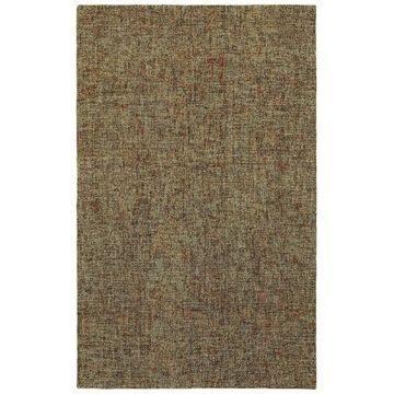 Style Haven Industrial Patina Boucle Brown/Multi Wool Handcrafted Area Rug (10' x 13') - 10' x 13'