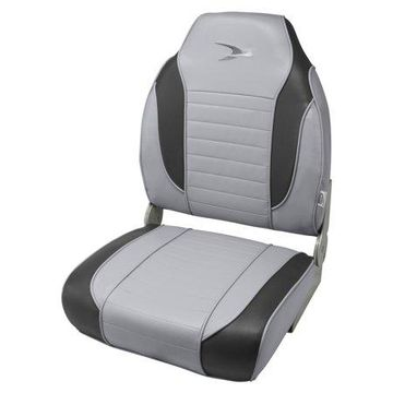 Wise 8WD892PLS-911 Series Striped High Back Boat Seat