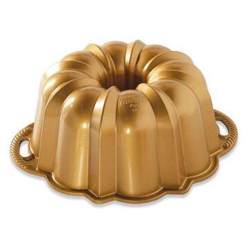 Nordic Ware Gold Aluminum 12 Cup Anniversary Bundt Pan