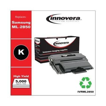Innovera Remanufactured Black High-Yield Toner Cartridge, Replacement for Samsung ML-D2850A, 5,000 Page-Yield -IVRML2850