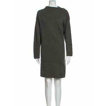 Wool Mini Dress Wool