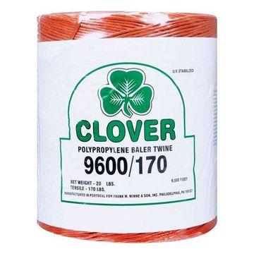 Clover 9600 ft. L Orange Poly Twine