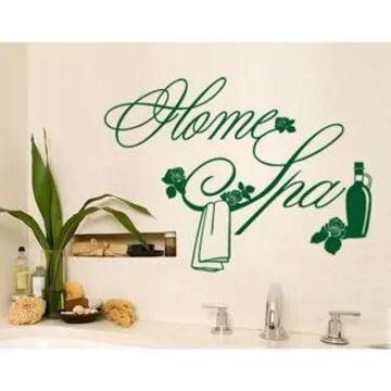 Home Spa Wall Decal Vinyl Art Home Decor