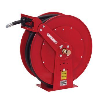 F83050 OLP 0.75 in. x 50 ft. Heavy Duty 250 PSI Fuel with Hose Reel, Red