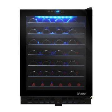 Vinotemp 54-Bottle Touch Screen Wine Cooler, Black VT-54TS