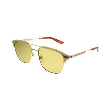 Gucci Unisex Rectangle 54Mm Sunglasses