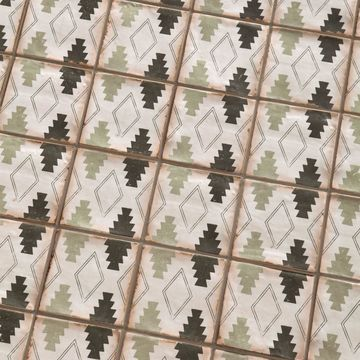 SomerTile 4.875x4.875-inch Chronicle Argania Ceramic Floor and Wall Tile (32 tiles/5.84 sqft.)