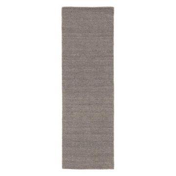 Jaipur Living Elements Handmade Solid Gray Runner Rug, 2'6