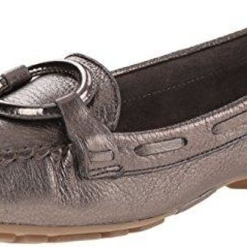Bernardo Women's Matrix Moc Moccasin, Pewter, 6.5 M US