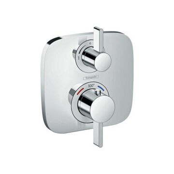 Hansgrohe Ecostat E Thermostatic Trim With Volume Control and Diverter, Chrome