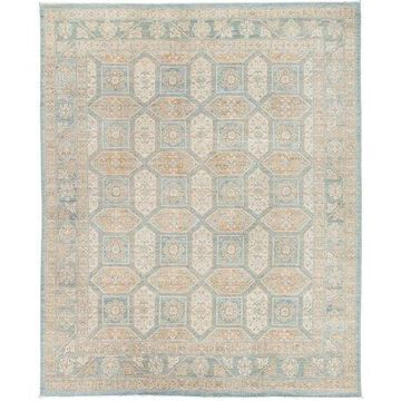 Solo Rugs One-of-a-kind Khotan Hand-knotted Area Rug 8' x 10'