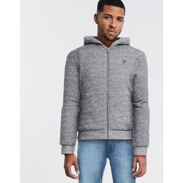 Jack & Jones zip sweat jacket-Gray