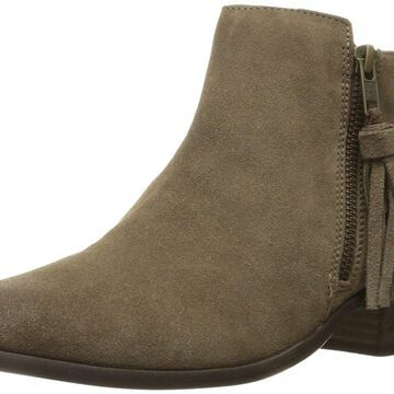 MIA Womens Emerson Suede Almond Toe Ankle Cold Weather Boots