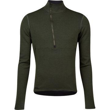 Pi Black Merino Thermal Sweater - Men's