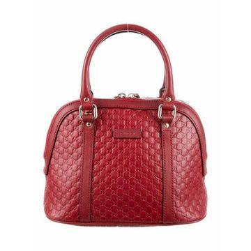 Microguccissima Mini Dome Bag Red