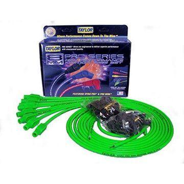Taylor Wire / Vertex 78555 TAY78555 8MM SPIRO-PRO UNIV 8 CYL 180 HOT LIME