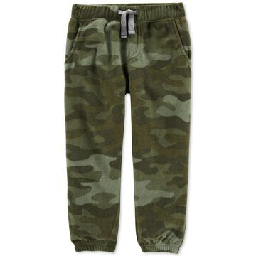 Baby Boys Fleece Camo Jogger Pants