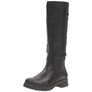 Caterpillar Women's Ness Engineer Boot,Black,6.5 M US