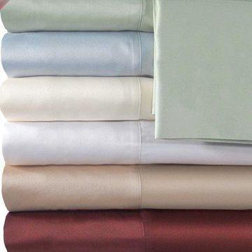 Veratex, Inc. Supreme Sateen 500 Thread Count Solid Sheet Set