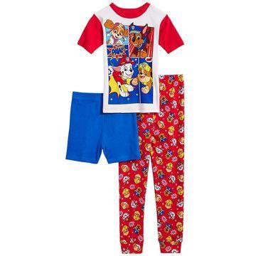 Little & Big Boys 3-Pc. PAW Patrol Cotton Pajama Set