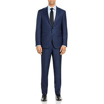 Canali Capri Tonal Plaid Slim Fit Suit