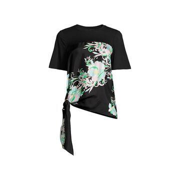 Kobi Halperin Kate Tie-Hem Silk Blouse
