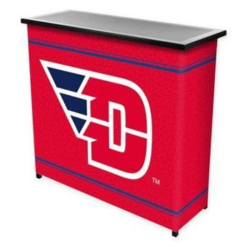 NCAA University of Dayton Portable Bar with Case