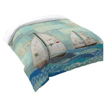 Laural Home At the Regatta Comforter, Twin