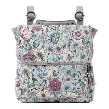 Sakroots Women's Artist Circle Convertible Backpack Blush In Bloom - US Women's One Size (Size None)
