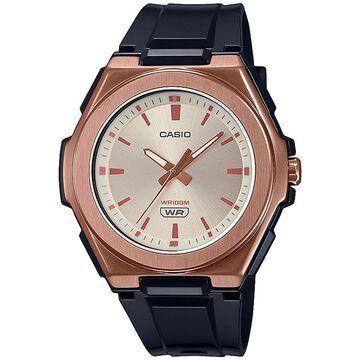 Casio Women's Brown Resin Strap Watch 42.6mm