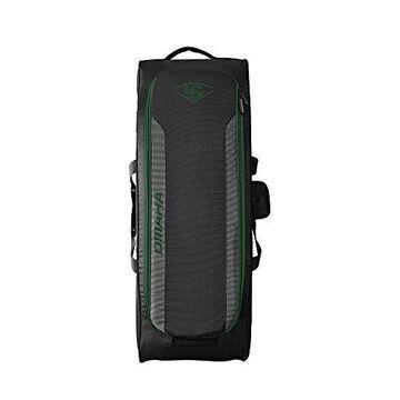 Louisville Slugger Omaha Rig Wheeled Bag - Dark Green